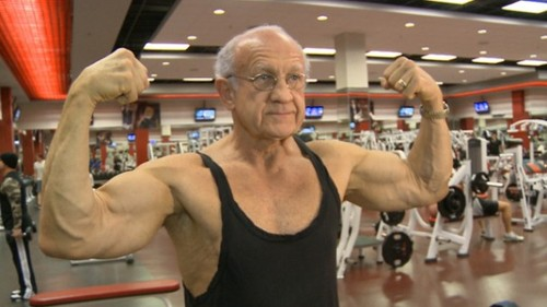 Old strong man